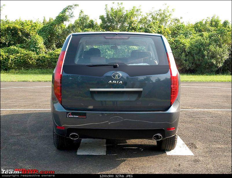 Tata Aria : Test Drive & Review-ariaback2.jpg