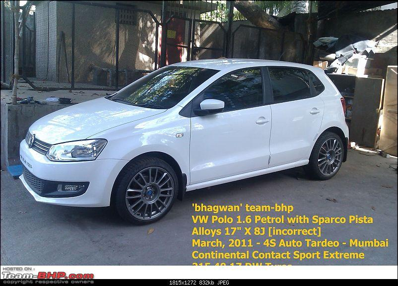 Volkswagen Polo : Test Drive & Review-bhagwan-team-bhp-mobile-pics-vw-polo-1.6-sparco-alloys-march-2011-3.jpg
