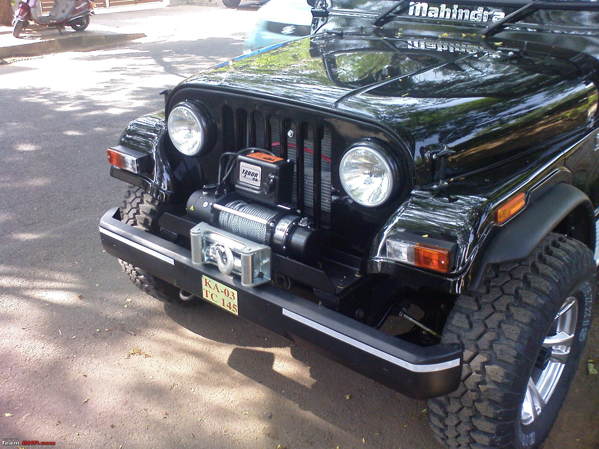 Mahindra Thar : Test Drive & Review - Page 106 - Team-BHP