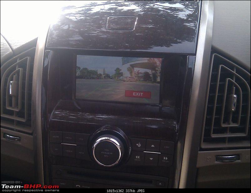 Mahindra XUV500 : Test Drive & Review-revcam1.jpg