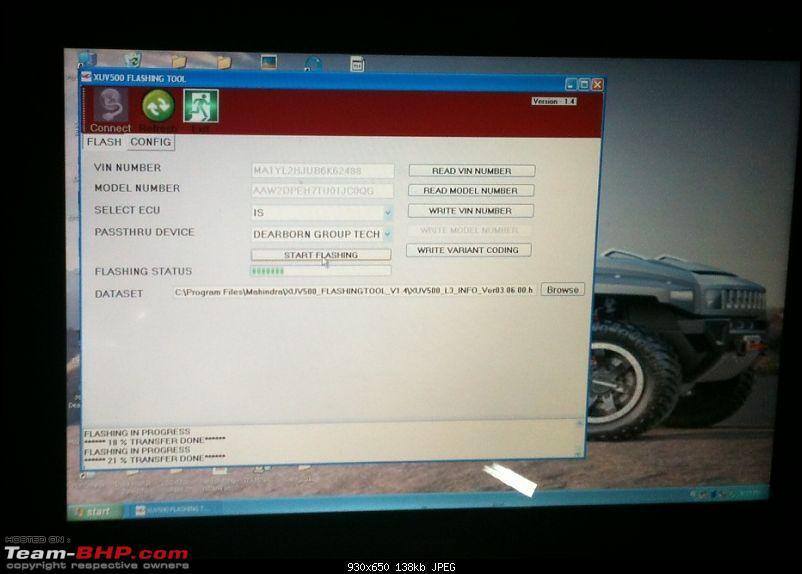 Mahindra XUV500 : Test Drive & Review-flashing2.jpg