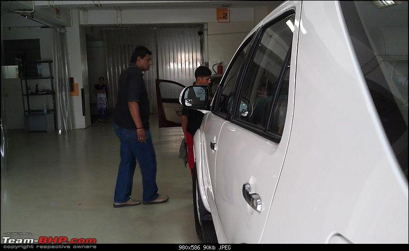 Professional Car Detailing: 3M Car Care (Madhapur, Hyderabad)-vinod-inspecting-work.jpg