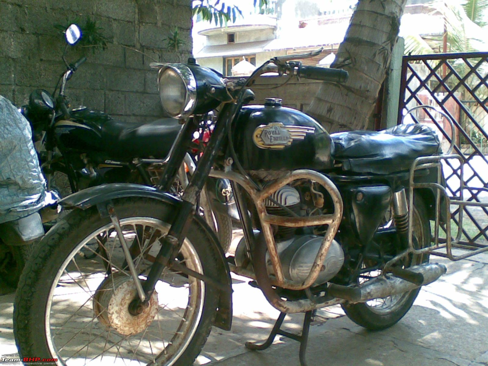 My 1969 Royal Enfield Sherpa 175cc With Villers Engine Team Bhp
