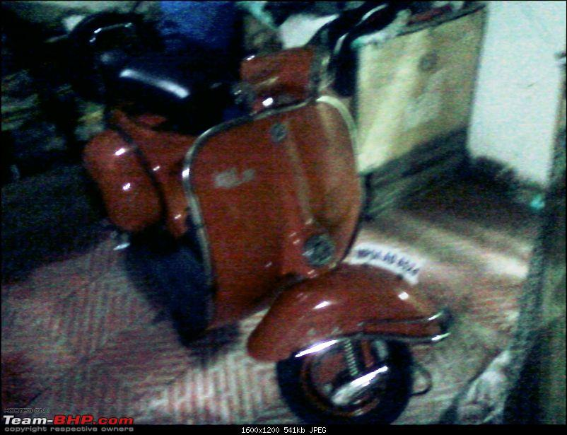 """Restoration and The Untold story of Our Prized Possession """"The 1974 Bajaj 150"""".-spm_a0809.jpg"""