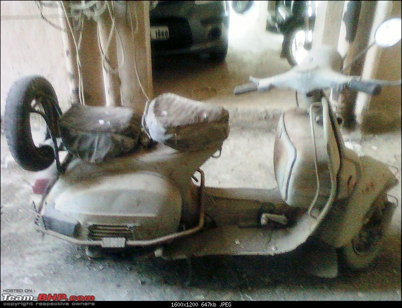 """Restoration and The Untold story of Our Prized Possession """"The 1974 Bajaj 150"""".-spm_a0735.jpg"""