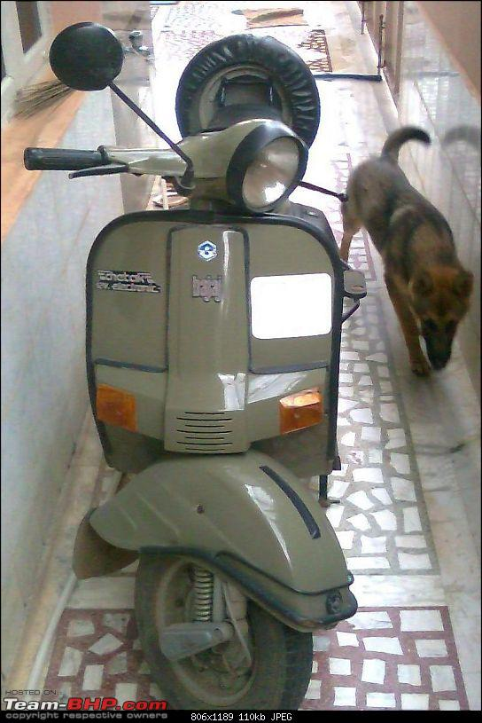 """Restoration and The Untold story of Our Prized Possession """"The 1974 Bajaj 150"""".-21973_1266904370.jpg"""