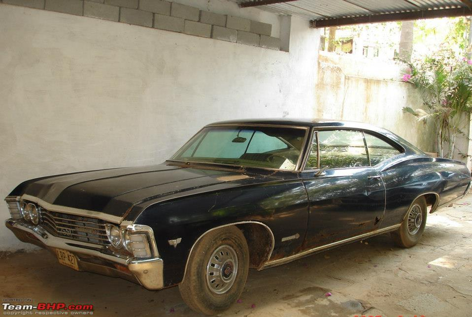 Restoration: 1967 Chevy Impala V8 Rustbucket - Team-BHP