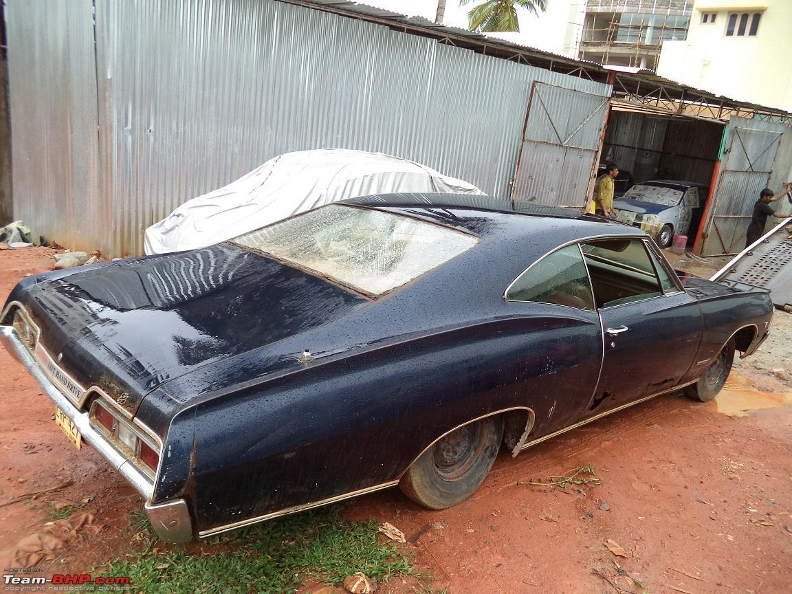 Restoration 1967 Chevy Impala V8 Rustbucket Team Bhp