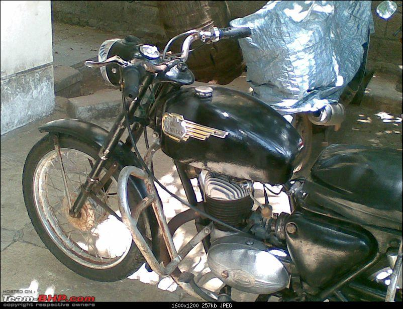 My 1969 Royal Enfield Sherpa 175cc with Villers engine-19052008001.jpg