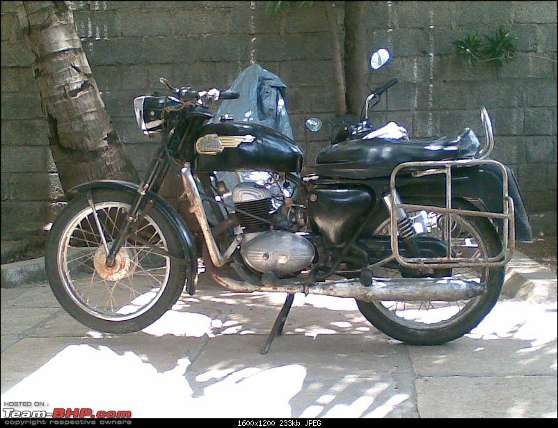 My 1969 Royal Enfield Sherpa 175cc with Villers engine-19052008.jpg