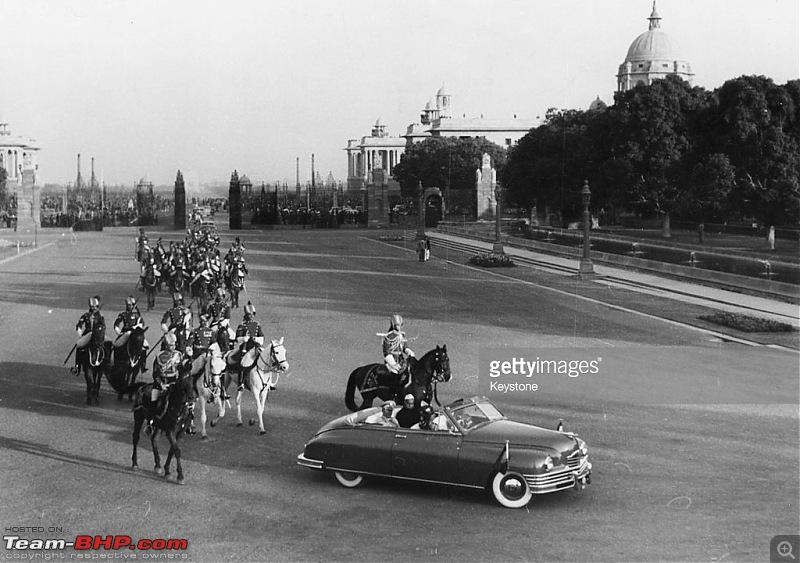 Cars of Rashtrapathi Bhavan - wheels for a nascent Nation / Republic-yugoslavian-jawaharlal-nehru-president-rajendra-prasad.jpg