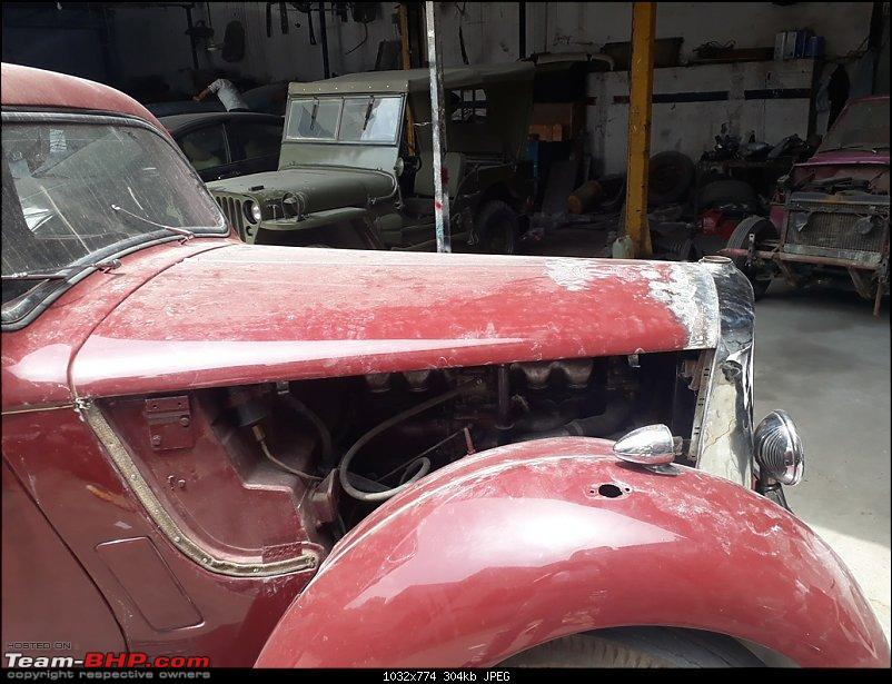 Restoration: 1948 Rover (P3) 75-6 Light Saloon-20190702_113110.jpg