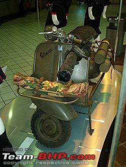 Name:  Vespa 150 TAP modified by French anti tank weapon.jpg Views: 17165 Size:  24.0 KB