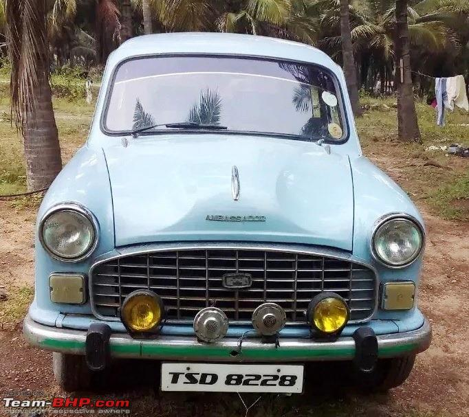 Name:  Mark III with Mark IV type grille and park lights. From  olx.in Manoj Kumar.jpg Views: 70 Size:  160.0 KB