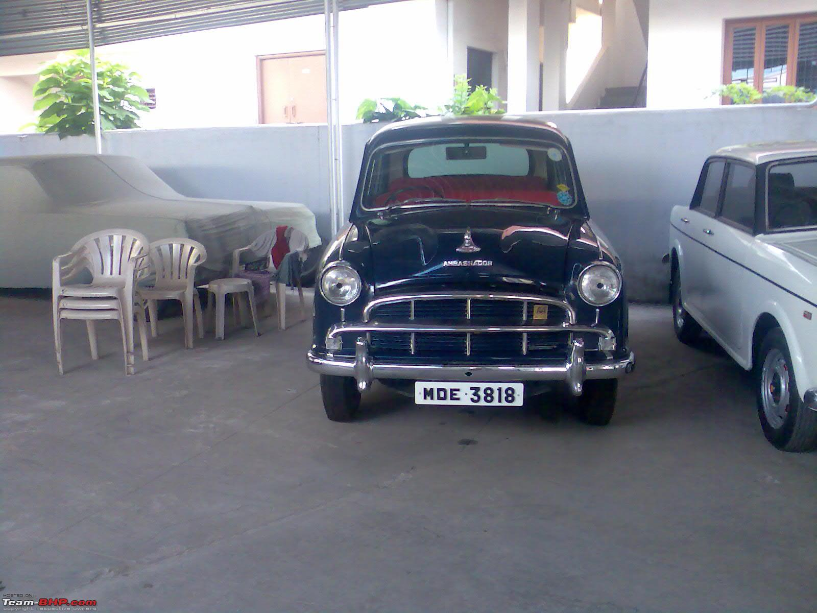 ... pics of my friend's ambassador recently restored in coimbatore