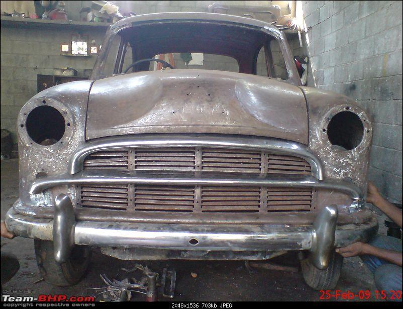 fully restored 1961 model Hindustan Ambassador-dress-rehearsal-front-grill-bumpers.jpg