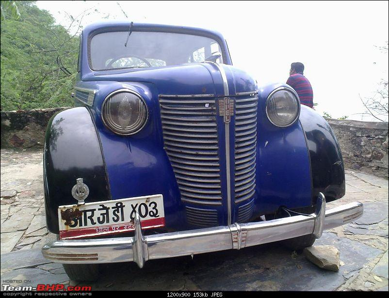 Unidentified Vintage beauty spotted at a Jaipur Hotel. EDIT : It's an Opel Olympia-12082010339.jpg