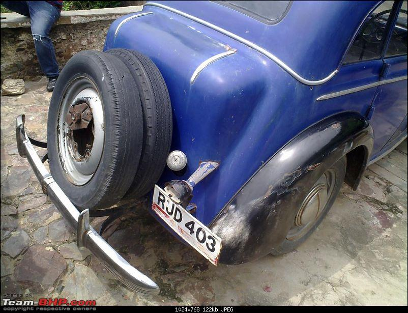 Unidentified Vintage beauty spotted at a Jaipur Hotel. EDIT : It's an Opel Olympia-12082010341.jpg