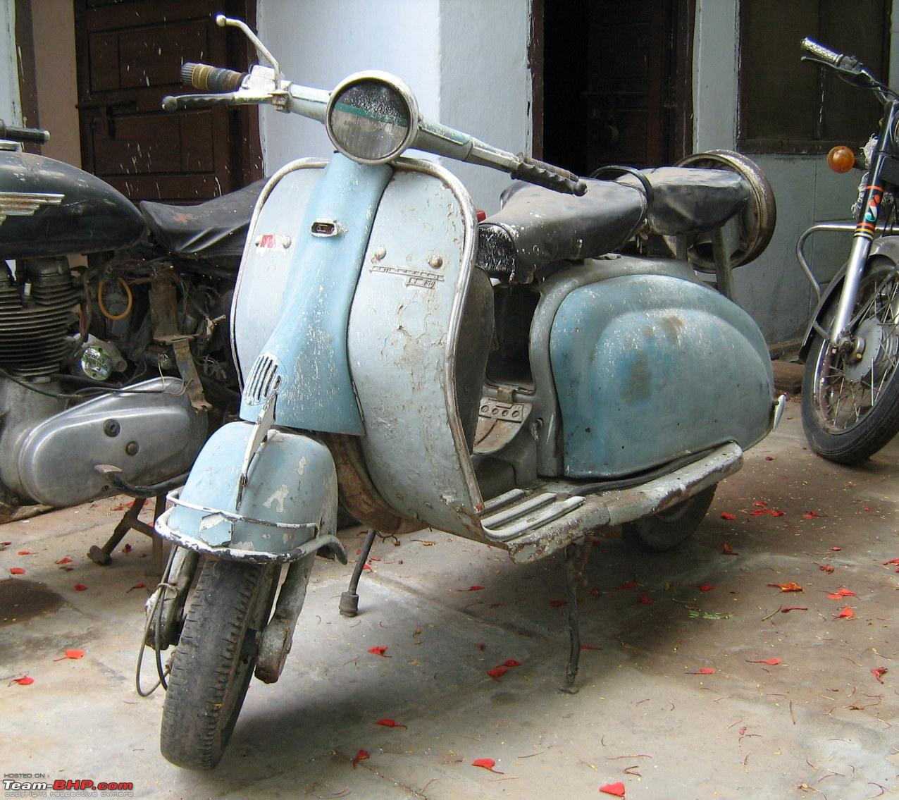 Repair and Restoration – Vespa Scooters