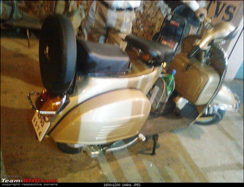 """Restoration and The Untold story of Our Prized Possession """"The 1974 Bajaj 150"""".-image0518.jpg"""