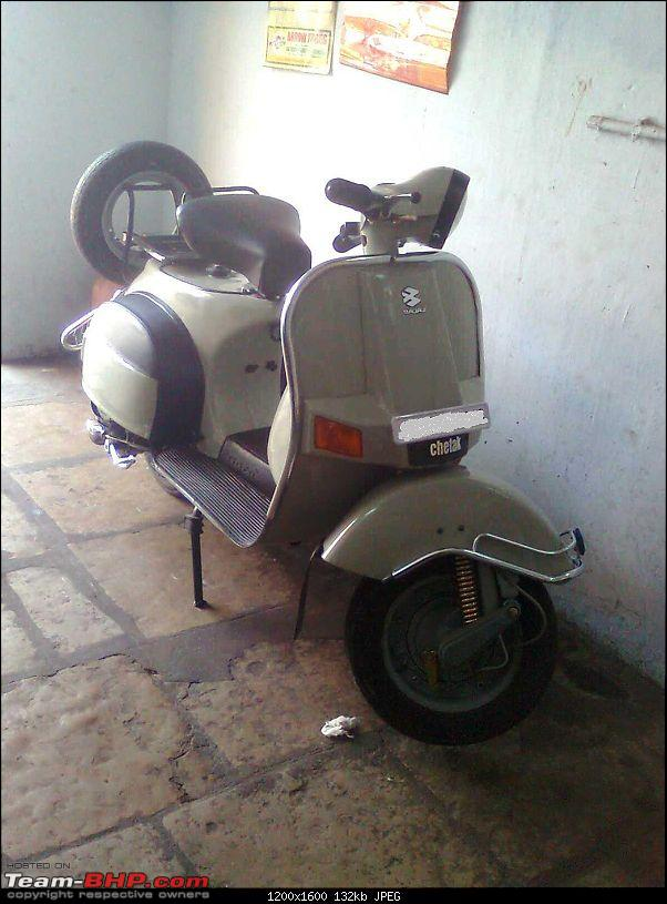 """Restoration and The Untold story of Our Prized Possession """"The 1974 Bajaj 150"""".-image0456.jpg"""