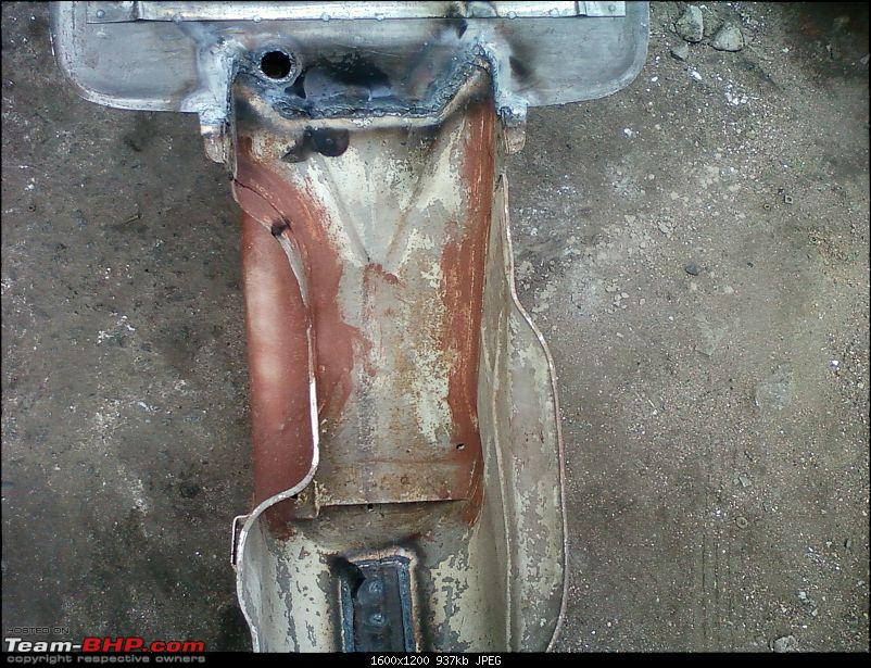 """Restoration and The Untold story of Our Prized Possession """"The 1974 Bajaj 150"""".-179.jpg"""