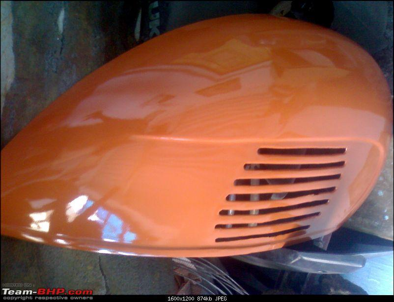 """Restoration and The Untold story of Our Prized Possession """"The 1974 Bajaj 150"""".-260.jpg"""