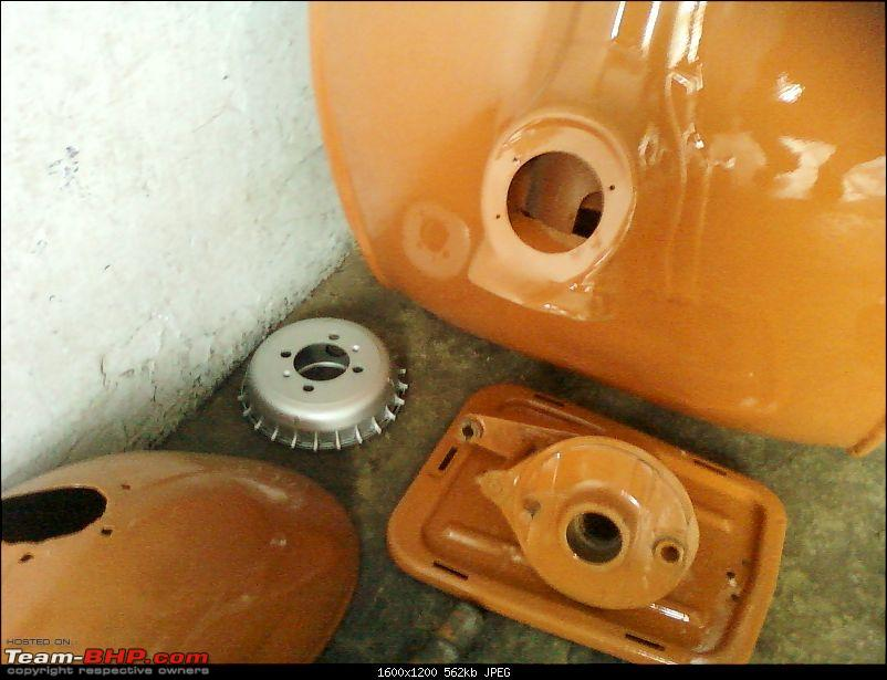 """Restoration and The Untold story of Our Prized Possession """"The 1974 Bajaj 150"""".-279.jpg"""