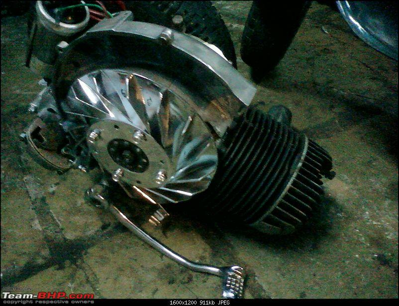 """Restoration and The Untold story of Our Prized Possession """"The 1974 Bajaj 150"""".-298.jpg"""