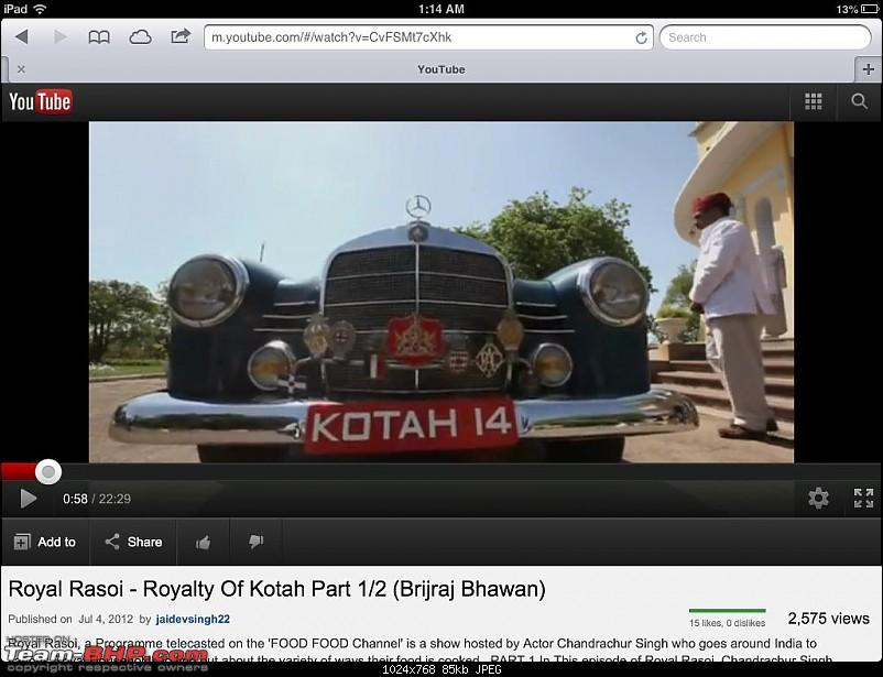 How rich were the Maharajas before Independence! Cars of the Maharajas-photo-1.jpg
