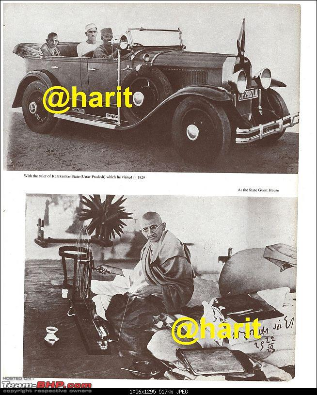 How rich were the Maharajas before Independence! Cars of the Maharajas-gandhi-1.jpg