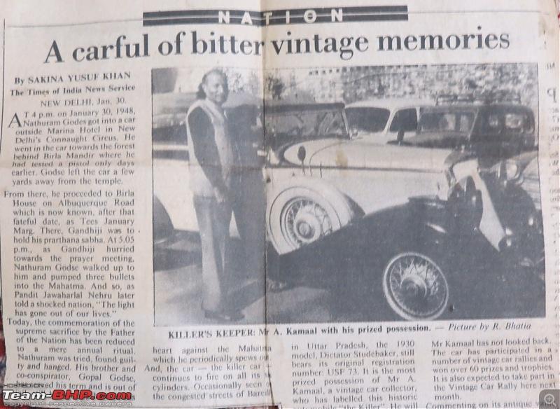 Article of Godse's Studebaker he drove to assassinate M.Gandhi-img_5534.jpg