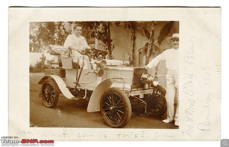 Earliest Cars seen in India - Veteran and Edwardian-bombaycar1905jeffblair.jpg