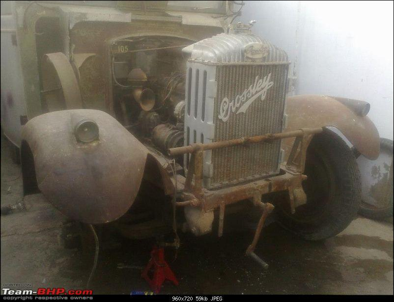 How rich were the Maharajas before Independence! Cars of the Maharajas-bahawalpur-crossley-6-wheeler-frt-preresto.jpg