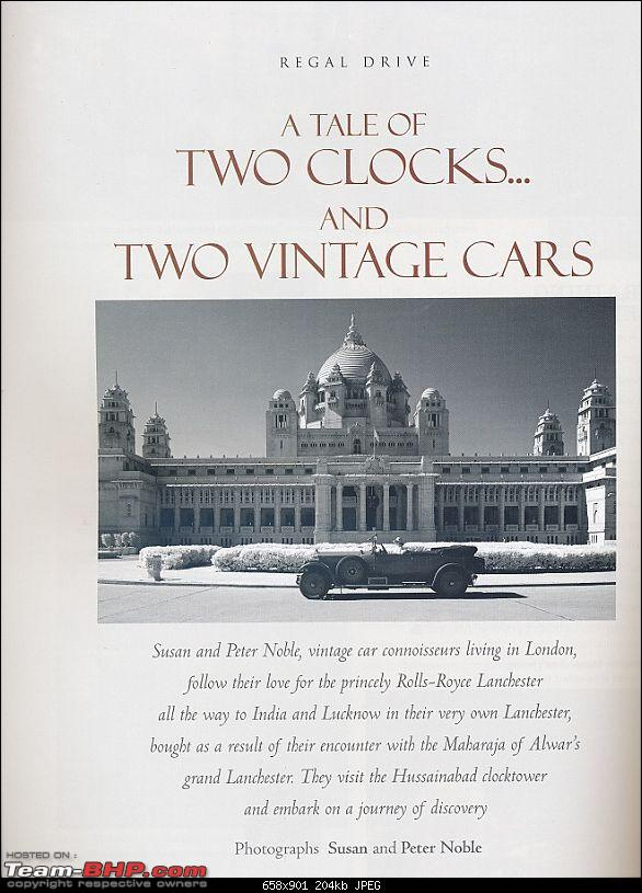 How rich were the Maharajas before Independence! Cars of the Maharajas-lanch1.jpg