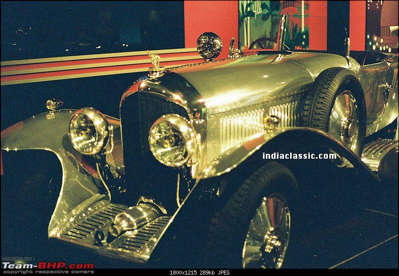 How rich were the Maharajas before Independence! Cars of the Maharajas-bhavnagar.jpg