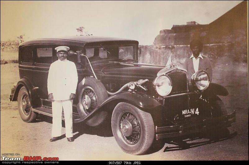 How rich were the Maharajas before Independence! Cars of the Maharajas-miraj.jpg
