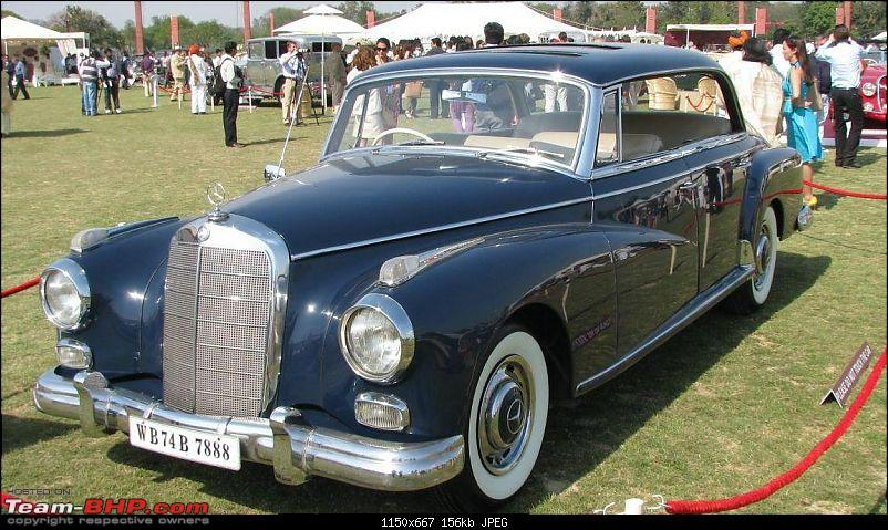 How rich were the Maharajas before Independence! Cars of the Maharajas-merc06.jpg