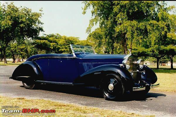 Name:  DHARBANGA ROLLS ROYCE PHANTOM III 1936 THRUPP FRONT 3Q.JPG Views: 4638 Size:  70.7 KB