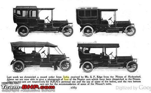 Name:  Nizam Napier Fleet 1906 Automotor Journal Dec 1906.JPG Views: 478 Size:  63.8 KB