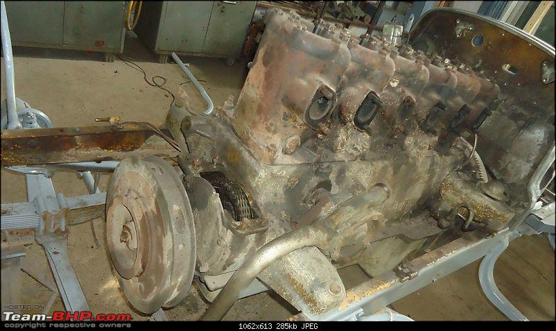 The Gold 1919 Daimler of Sir Seth Hukumchand-engine-during-teardown-stage.jpg