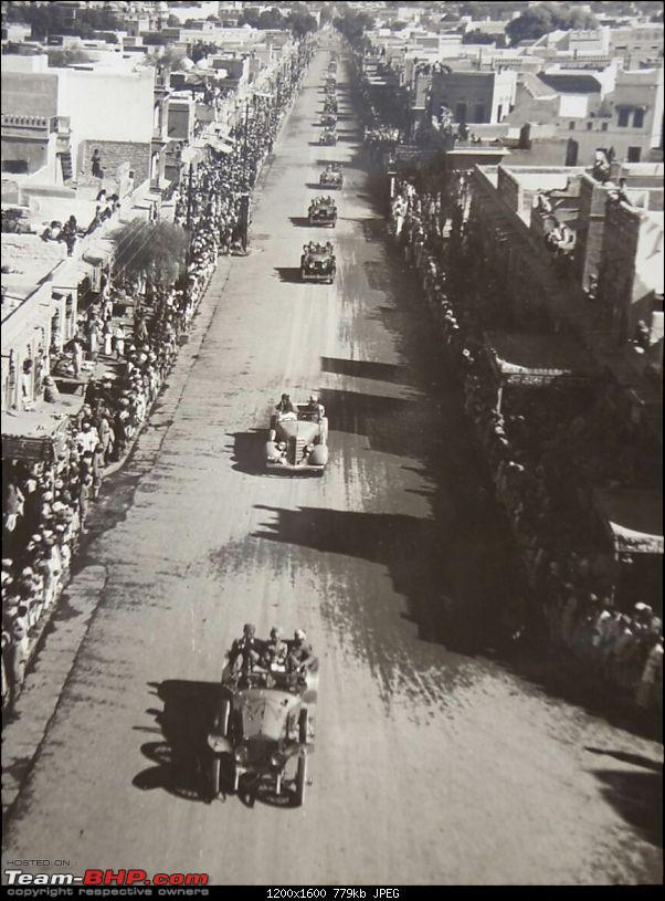 How rich were the Maharajas before Independence! Cars of the Maharajas-bikanercoronation-1943.jpg