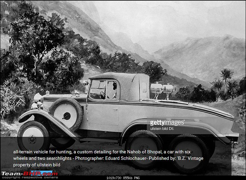 How rich were the Maharajas before Independence! Cars of the Maharajas-00.png