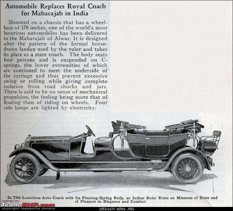 How rich were the Maharajas before Independence! Cars of the Maharajas-royal_coach.jpg
