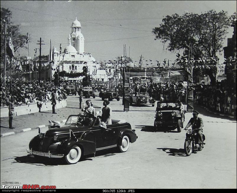 How rich were the Maharajas before Independence! Cars of the Maharajas-udaipur-cavlcade.jpg