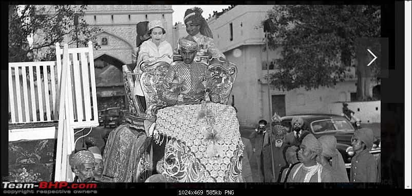 How rich were the Maharajas before Independence! Cars of the Maharajas-qe2.png