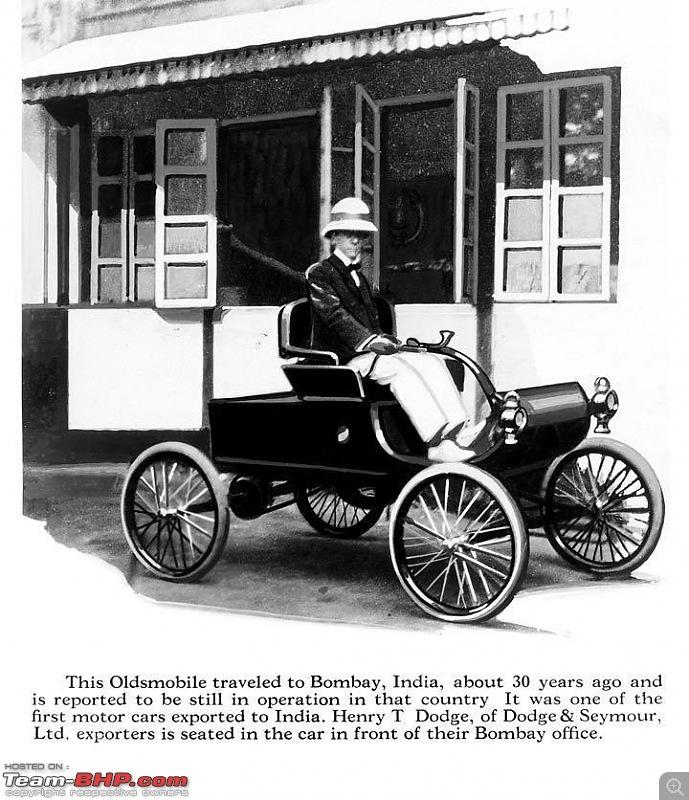 Earliest Cars seen in India - Veteran and Edwardian-olds.jpg