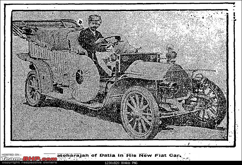 How rich were the Maharajas before Independence! Cars of the Maharajas-fiat04.png