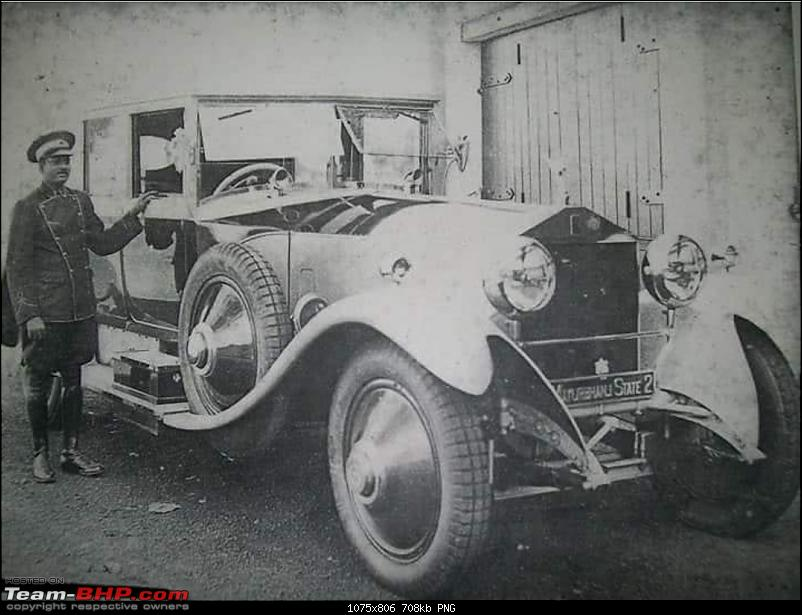 How rich were the Maharajas before Independence! Cars of the Maharajas-20180816_112654.png