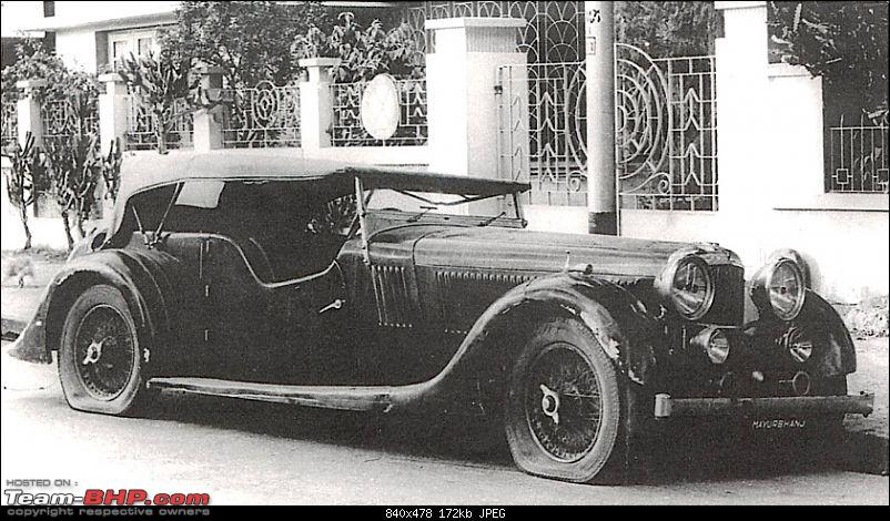How rich were the Maharajas before Independence! Cars of the Maharajas-small.jpg